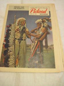 1948 WORLD SERIES CLEVELAND INDIANS CLEVELAND PLANE DEALER PICTORIAL MAGAZINE