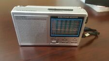 1012XPKL World Band Receiver Transistor Radio National Weather 12 Band TV AM FM