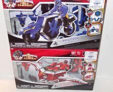 LOT ✰ RARE Power Rangers DRAGONZORD & LIONZORD Mega Ranger figure SUPER SAMURAI