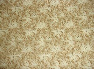 2 YARDS Day Dream Taupe Tonal Quilting Sewing Crafts Applique Cotton Fabric