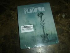 Platoon (Blu-ray Disc, 2018, Limited Edition SteelBook) (Loose Disc)