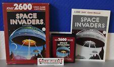 Space Invaders Atari VCS 2600 (1980) OVP Top Hülle Anleitung Modul