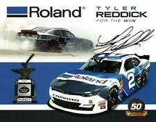 Autographed 2019 Tyler Reddick #2 Roland For the Win Postcard