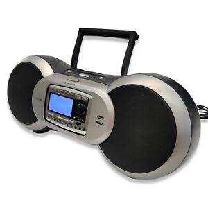 Sirius Sportster Satellite XM Radio Boombox SP-B1Ra w/Receiver and Power Cord