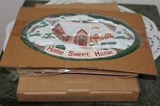 New in Box AVON VINTAGE  1999  GIFT.....HOME  SWEET  HOME  TRIVET cast iron