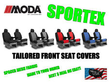 Coverking MODA Sportex Spacer Mesh Custom Front Seat Covers for Chevy Camaro