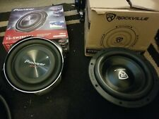 Pioneer TS-SW2502S4 1-Way 10in. 300W Car Subwoofer