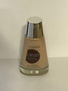 Covergirl Clean Liquid Makeup Normal Skin, # 125 Buff Beige, 1 Bottle