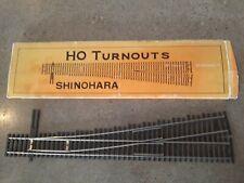 Shinohara Turnout #6 Left Hand Code70 switch