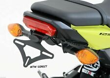 Honda MSX125 GROM125 2016-2018 R&G RACING tail tidy for use with OEM indicators