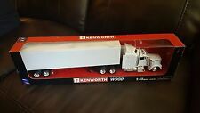KENWORTH W900 PLAIN UNMARKED WHITE 1/43 MODEL TOY TRUCK SEMI BY NEW RAY 15843