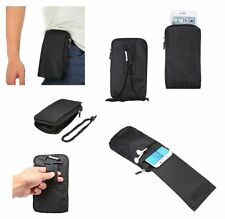for GOCLEVER QUANTUM 2 500 RUGGED Pouch Bag XXM 18x10cm Multi-functional Univ...