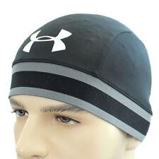 Under Armour Mens Original Skull Hat UA Solid Cap Sport Wrap Headwear Run Biker