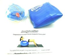 Bodylastics Anti-Burst Exercise Stability Ball Blue 65 cm 3000 lbs w/foot Pump