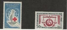 New Caledonia, Postage Stamp, #328-329 Mint Hinged, 1963 Red Cross