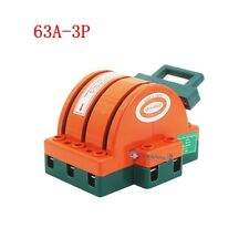 63a 3 Pole Double Throw Knife Safety Disconnect Switch 220v 380v