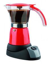 Gourmetmaxx Espresso Kocher elektrisch Kaffee Maschine rot