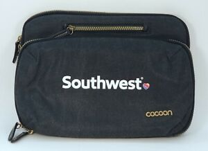 SOUTHWEST AIRLINES Tablet Zipper Case by Cocoon w/Grid-It Organizer Phone Pocket