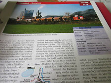 Archiv  Eisenbahnstrecken 380 Wunstorf Bokeloh