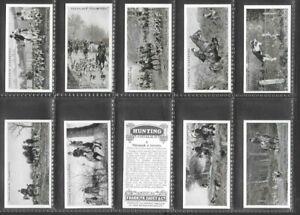"FRANKLYN DAVEY 1925 ( COUNTRYSIDE SPORT ) FULL 25 CARD SET  """"  HUNTING  """""