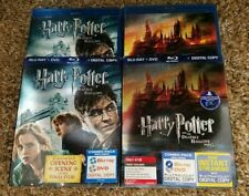Harry Potter and the Deathly Hallows: Part 1 & 2 (Blu-ray + DVD) w/ Slipcovers