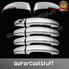 FOR FORD Escape coverse 13-14 4DRS handle+Mirror w/signal 2pc CHROME COVERS