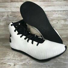 Under Armour Ua Clutchfit Men's Boxing Shoes White/Black 1256889-103 Size 10.5