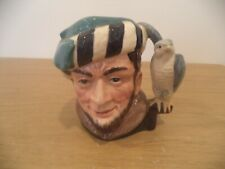 "Royal Doulton D6540 ""The Falconer"" 4"" Tall Toby Jug 1959"