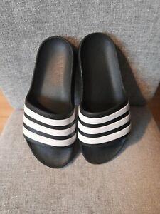 Boys Adidas Slip On'S Sliders Size Uk 2