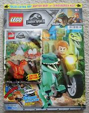 LEGO Jurassic Park World - Magazine w/ Baby Raptor And Nest Foil Pack 121801