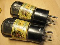 F420 PHILIPS tube RE084 Telefunken Matched Pair roehre röhre nos nib ovp röhren