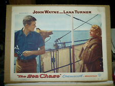 THE SEA CHASE, orig 1955 LC #5 (Lana Turner, Tab Hunter)