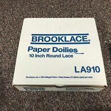 """500 Brooklace LA910 10"""" Paper Doilies"""