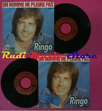 LP 45 7''RINGO Un homme ne pleure pas Le chemin est long l'ami 1980 no cd mc dvd