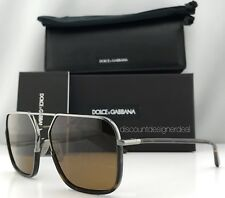 Dolce & Gabbana DG 2193J ROYAL Sunglasses 04/73 Ruthenium Havana/Brown 59mm