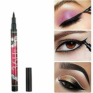 36H Eyeliner Waterproof Liquid Eye Liner Felt Tip BLACK Eye Liner Pencil Make Up