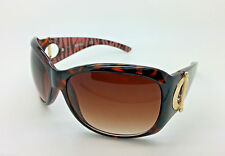 KENNETH COLE REACTION KC1157 63/16 WRAP BROWN WOMEN'S SUNGLASSES -- NEW
