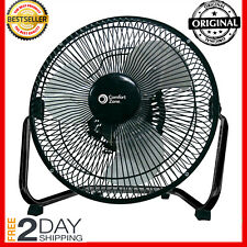 Industrial Grade Floor Fan High Velocity 3 Speed Heavy Duty Commercial Black New