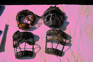4 VTG CATCHER'S MASKS - 3 UNBRANDED PLUS NOKONA!!