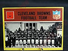 Cleveland Browns 1967 Philadelphia Football Team Card # 37 Unmarked EXMT !