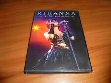 Rihanna - Good Girl Gone Bad Live (DVD, 2008,Full Frame) Used
