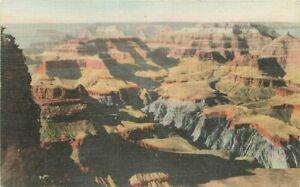 Arizona Grand Canyon NW Grandeur Point Harvey Postcard 21-1849