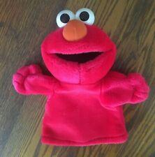 Elmo Red Plush Hand Puppet Sesame Street Toy