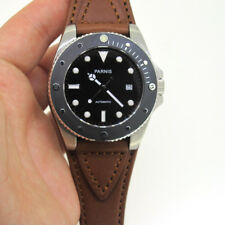 43mm Parnis Sapphire Crystal Miyota Automatic Movement Men's Watch Luminous Mark