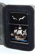 Zippo Accendino Lighter Originale Caravella 5 Vele 1996 Collezione Colombo Box