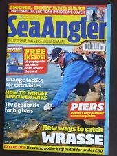 Sea Angler, Issue 481, Inc Boat Angler, Target Specimen Rays, Catch Wrasse