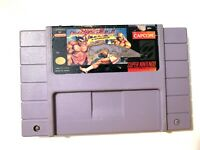* Super Street Fighter II 2 Turbo Nintendo SNES Game Tested Working & Authentic