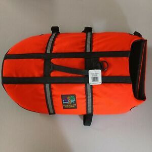 """""""Brand New"""" Outward Hound Dog Life Jacket Large Pet Saver Orange and Black"""