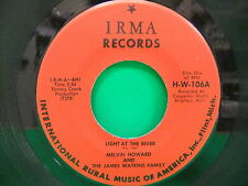 Melvin Howard & The James Watkins Family Light At The River/ Angels VG+ IRMA 106
