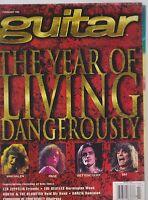 FEB 1995 GUITAR vintage music magazine VAN HALEN - VAI - PAGE - BETTENCOURT